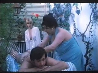 Massage Mature Outdoor Vintage