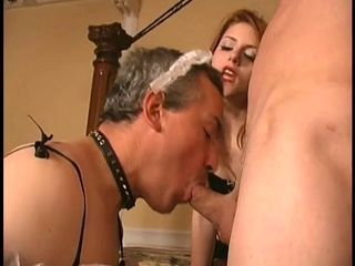 Cock sucking sissi