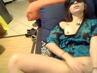 Fetish Girlfriend Homemade Masturbating Small Tits