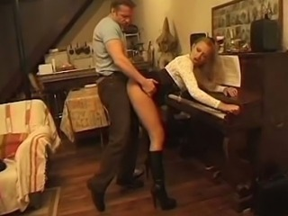 Babe Clothed Doggystyle Hardcore Legs Teacher
