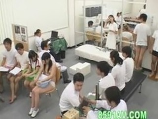 schoolgirl discountenanced physical examination 04
