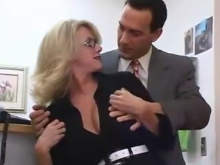 Hot Big Titted Mom Apropos Her Boss In Office