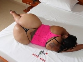 Ass BBW Latina MILF Panty Tattoo