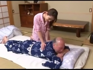 Asian Cute Japanese Massage Old and Young Teen
