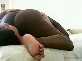 Amateur Ebony Interracial Licking