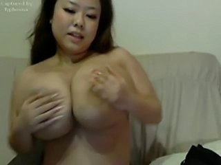 Asian Big Tits  Natural Webcam