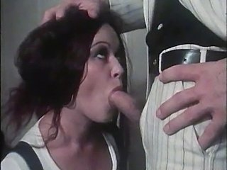 Blowjob Brunette Cute Teen Vintage