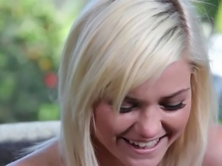 Blonde Casting Cute Teen