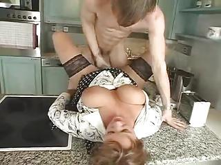 Mature Is Horny And Young Cock Is Hot