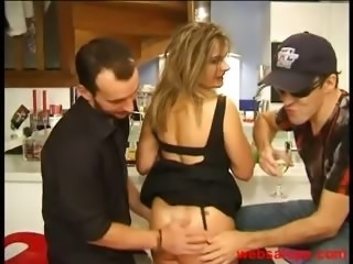 Amateur European French Mature Threesome