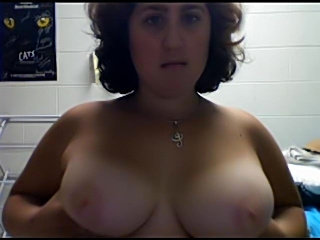 Long solo webcam play with a fatty