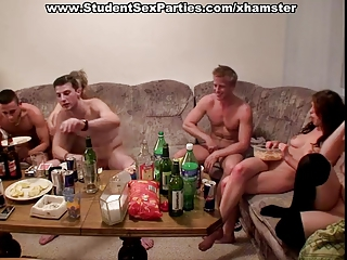 Drunk Hardcore Orgy Party Student Teen