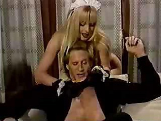 Sexy Horney Blonde French Maid Hot Sex