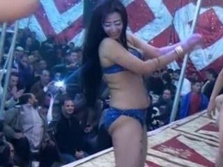 Arab Dancing MILF Outdoor Public