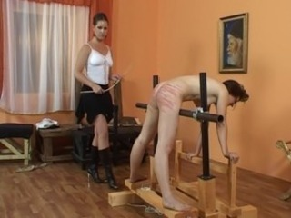 Caning girls #1
