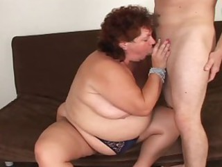 Fat MILF take big dick in her hot..