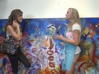 Milf And Teen Enjoys Each Others,By Blondelover