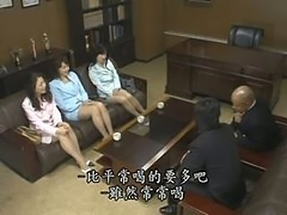 Asian Hardcore Japanese  Office Orgy