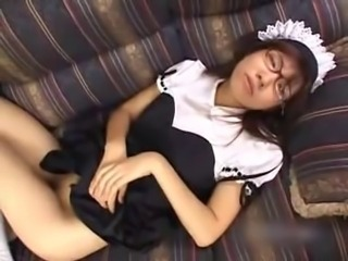Asian Cute Japanese Maid Teen