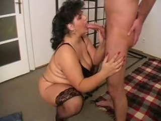 Big Tits Blowjob Mature Mom Old and Young