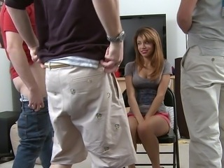 Amateur Cute Gangbang Party Student Teen