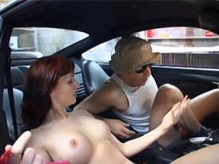 Car Cute European Small Tits Teen
