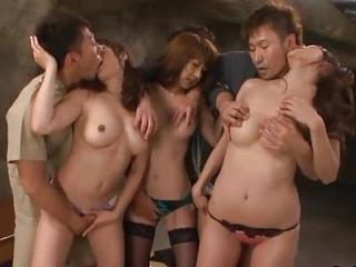 Asian Babe Groupsex Japanese Orgy