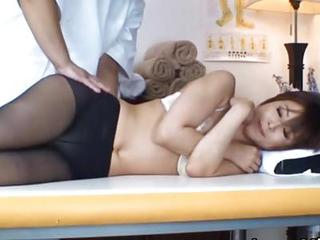 Asian Japanese Massage  Pantyhose