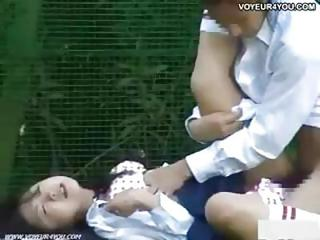 Asian Clothed Hardcore Outdoor Teen Voyeur
