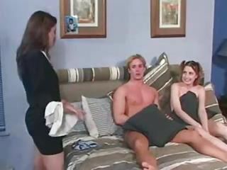 Sister Teen Threesome