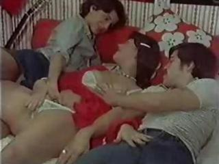 Panty Teen Threesome Vintage