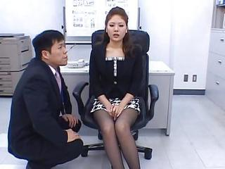 Asian Japanese  Office Stockings