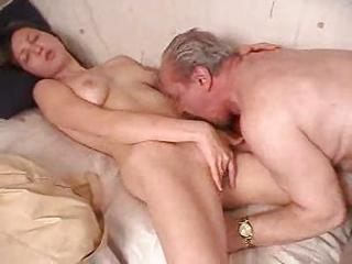 Russian Grandpa Daughters Join up - Brighteyes69r