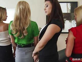Nicole Aniston Office 4 Play Christmas Edition