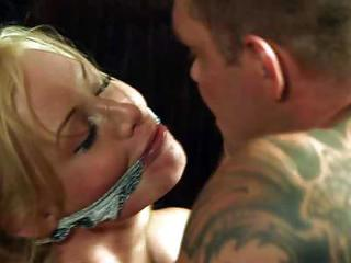 Incredibly Attractive Blonde With Nice Boobs Gets Her Pussy Fucked Rough By Unmerciful Hard Dicked Man In The Kitchen. He Fucks The Brains Out Of Pretty Blonde With Wild Passion. And He Cant Get Enough!