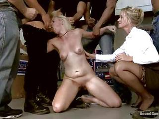 Milf Simone Sonay Decides To Punish Her Step-daughter Alice Frost After She Catches Her Cheating On Her Father. Cute Blonde Simone Sonay Gets Mercilessly Gang Fucked By A Group Of Brutal Men In Front Of Her Step-mother.