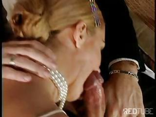 Blonde Blowjob European Italian