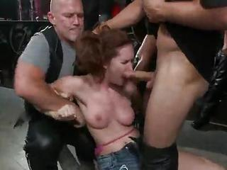 Melody Jordan Has Gangbanged Inside The Biker Bar