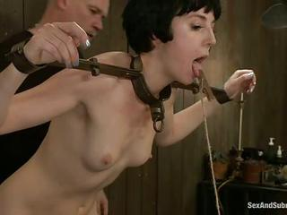 Thats The Competition For Two Sex Slaves Odile And Coral Aorta. They Do Dirty Things, Get Humiliated And Tortured By Kinky Man Mark Davis That Loves Bdsm Fun So Much. They Dildo Fuck Each Other And Gag On His Dick.