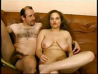 Chubby french brunette painful anal casting