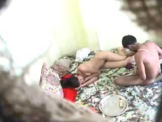 Young Indian couple  fuck caught by friends