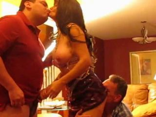 Real slut wife loves cuckold and more