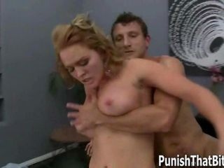Krissy gets Forced Punishment Anal