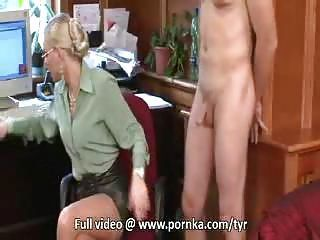 busty mature milf bound and toyed with a vibrator