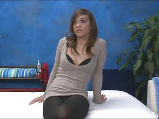 Melanie Takes Off Her Minidress, Pantyhose, Bra And Panties Before She...