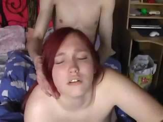 Huge Tittied Red Head Amateur