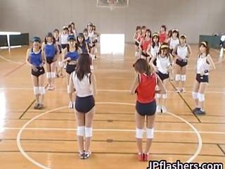 Amateur Japanese Teenagers Exposed Playing Part1