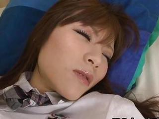 Asian Cute Japanese Sleeping Student Teen