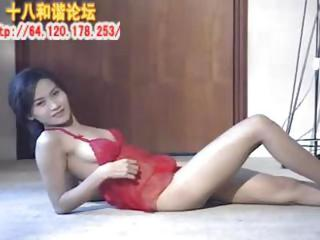 Amateur Amazing Asian Chinese Lingerie Solo Teen