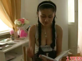 Pigtail School Teen